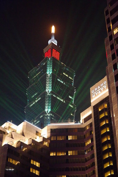 Grand Hyatt Taipei and 101